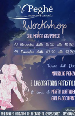 Workshop sul manga giapponese